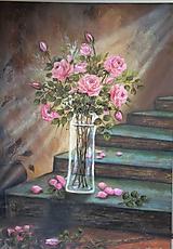 Obrazy - Sen o ružiach - 10605714_