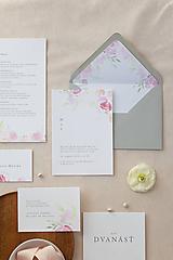 Papiernictvo - Svadobné oznámenie Pivon - 10603047_