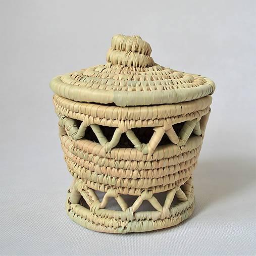 Mansoura Pletený košíček