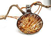 """Náhrdelníky - Keramický šperk """" Zlatý mok """" - 10605231_"""