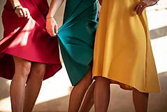 Šaty - Šaty Klasik (L - Šafránová) - 10604999_