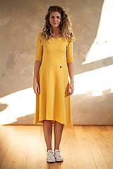 Šaty - Šaty Klasik (L - Šafránová) - 10605000_