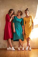 Šaty - Šaty Klasik (L - Šafránová) - 10605001_