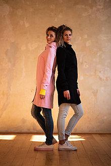 Mikiny - Mikino-kabátik (S - Ružová) - 10604916_