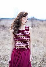 Šaty - Oasis dress bordo - 10604699_