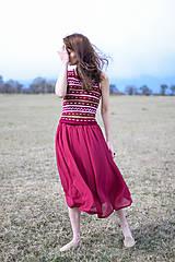 Šaty - Oasis dress bordo - 10604700_