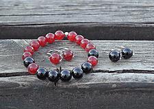 Sady šperkov - Hypersten a Jadeit sada - 10603031_