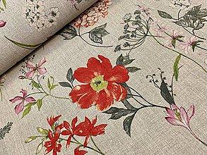 Textil - 100% ĽAN FRANCÚZSKO - 10606774_
