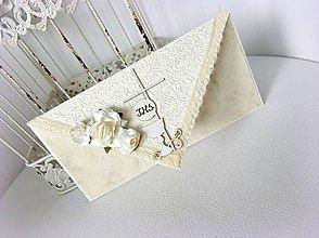 Papiernictvo - Obálka na peniažky k prvému svätému prijímaniu, krstu alebo konfirmácii - 10604030_