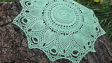 Úžitkový textil - Háčkovaná dečka Tala - 10605918_