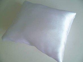 Úžitkový textil - svadobný vankúšik ozdob si sám - 10606692_