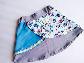 Detské oblečenie - Suknička pre malú paradnicu - 10605574_
