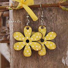 Náušnice - Bloom Yellow // mini - 10605959_