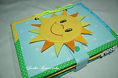 Hračky - Predná a zadná - slnko a mesiac - 10605902_