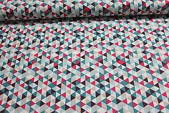 Textil - Trojuholníčky pre devušky - 10607763_