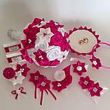 Pierka - Pierka pre svadobných svedkov, rôzne odtiene - 10609345_
