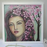 Obrazy - Miss Spring - 10609759_
