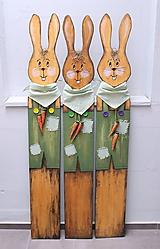 Dekorácie - veľkonočný zajac - 10609930_