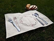 Úžitkový textil - Claudianum: Montessori prestieranie pre deti - 10608511_