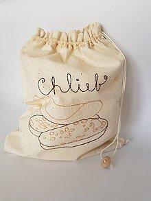 Úžitkový textil - Claudianum: Vrecko na pečivo - 10608577_