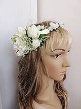 Ozdoby do vlasov - Venček na svadbu, 1.sv.prijimanie - 10608032_