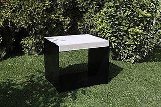 Nábytok - Betónová lavička GALBA - 10608245_