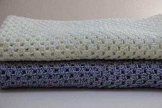 Textil - Dečka smetanové barvy - 10608700_