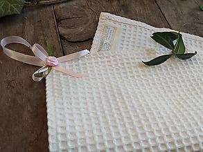 Úžitkový textil - VAFLOVÝ OBRŮSOK/UTERÁK - 10607073_