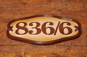 Tabuľky - Číslo domu z keramiky - 10609527_