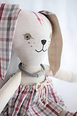 Hračky - Zajačica Lotka - 10608238_