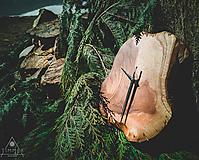 Hodiny - Drevené dekoračné hodiny - RAW 1 - 10609607_