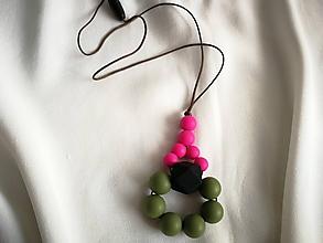Detské doplnky - Dojčenský náhrdelník