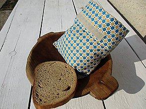 Úžitkový textil - desiatové obojstranné vrecko - 10607640_