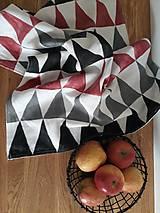 Úžitkový textil - ľanová utierka - 10609741_
