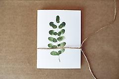 Papiernictvo - Botanická pohľadnica - print alebo originál - 10608428_