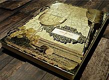 Papiernictvo - Svadobná kniha hostí/Kniha návštev/Kniha hostí/Vinárska kniha/Kronika/Album/ - 10607300_