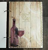 Papiernictvo - Svadobná kniha hostí/Kniha návštev/Kniha hostí/Vinárska kniha/Kronika/Album/ - 10607306_