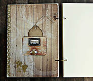 Papiernictvo - Svadobná kniha hostí/Kniha návštev/Kniha hostí/Vinárska kniha/Kronika/Album/ - 10607307_