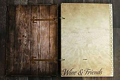 Papiernictvo - Svadobná kniha hostí/Kniha návštev/Kniha hostí/Vinárska kniha/Kronika/Album/ - 10607338_