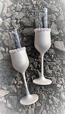 Darčeky pre svadobčanov - Svadobné poháre - 10609024_