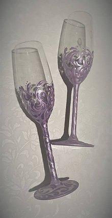 Darčeky pre svadobčanov - Svadobné poháre - 10609775_