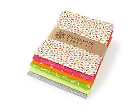 Textil - Bavlnené látky - balíček TFQ136 - 10607657_