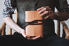 Papiernictvo - Kožený zápisník - Grenfell - 10608751_
