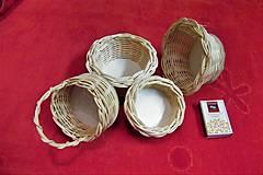 Košíky - Košíky z pedigu-mini - 10609979_