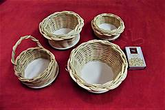 Košíky - Košíky z pedigu-mini - 10609980_