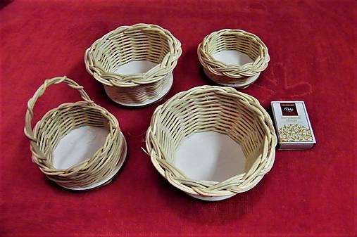 Košíky z pedigu-mini