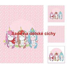 Textil - Autorská sada bavlněných panelů na peřinku č.13 - 10613289_