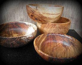 Nádoby - misky z dreva vŕby... - 10610194_