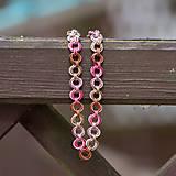 Náhrdelníky - Baculatá elegance neopolitan - náhrdelník - 10610608_