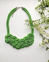 Náhrdelníky - Zelený - 10612808_